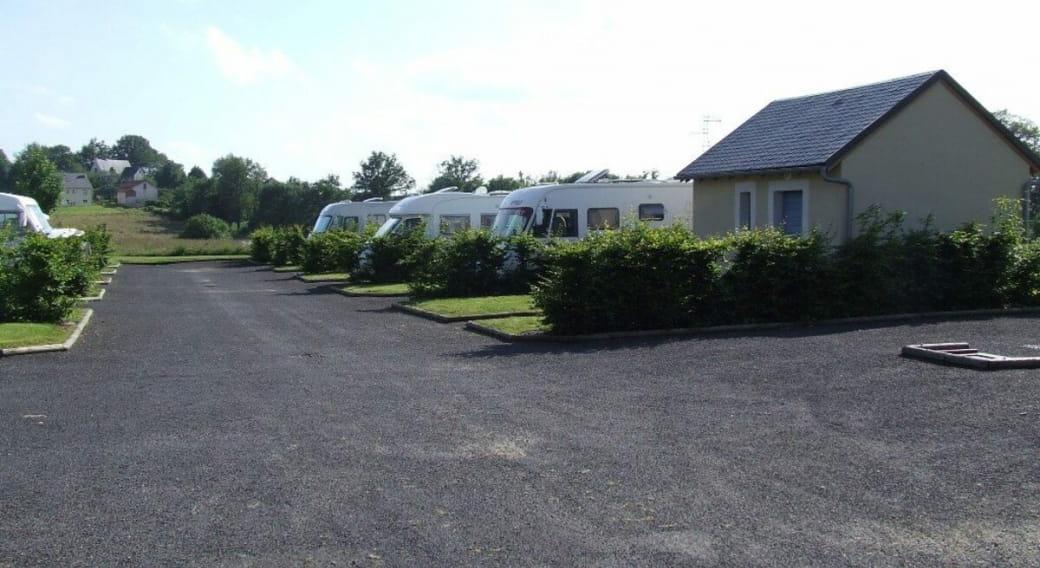 Aire de camping cars de Montsalvy