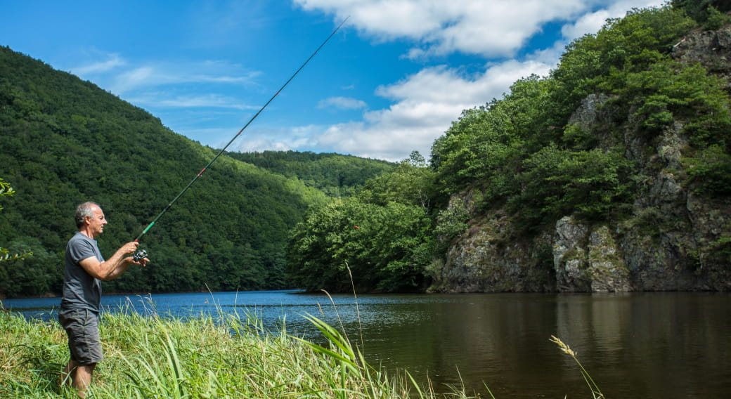 Site de pêche - Rivière la Sioule (basse Sioule)