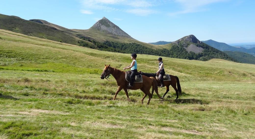 Equustur - Le grand volcan à cheval