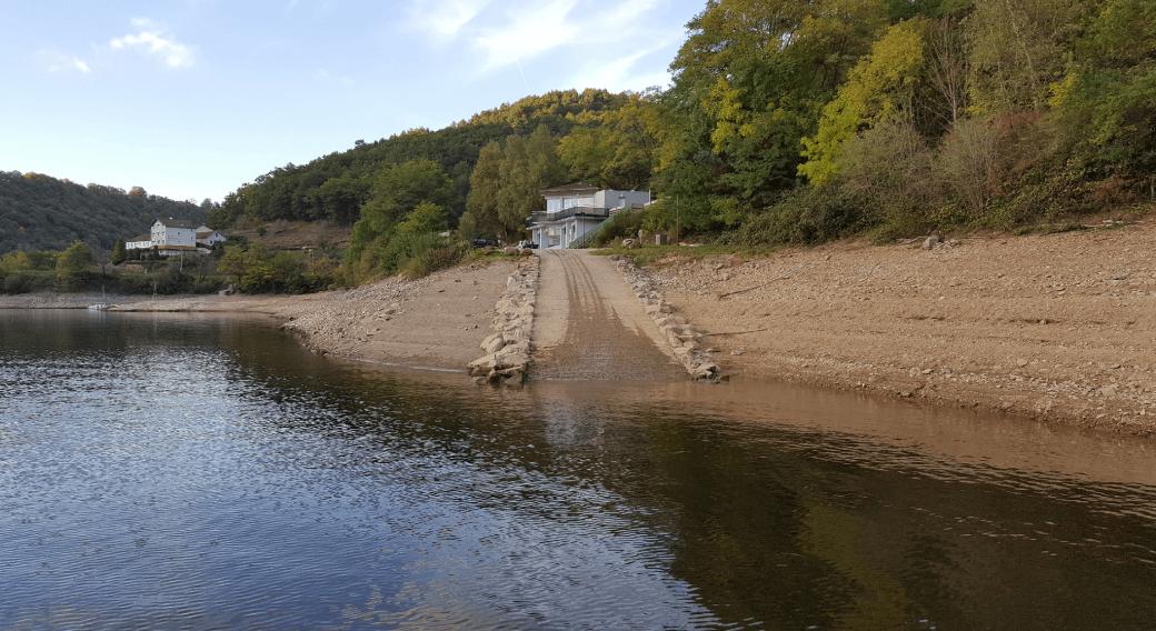 Mise à l'eau - Centre Pêche Nature