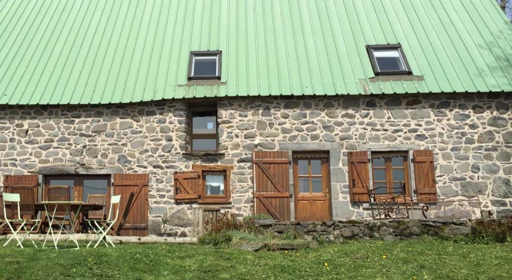 La maison au toit vert