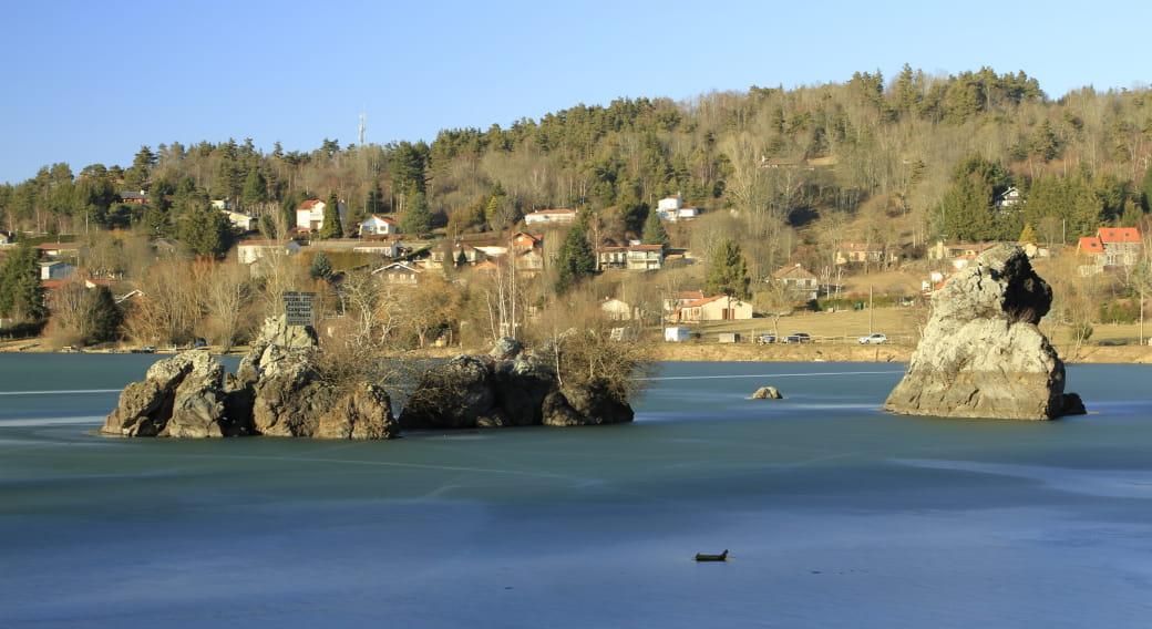 Pêche au lac de La Cassière