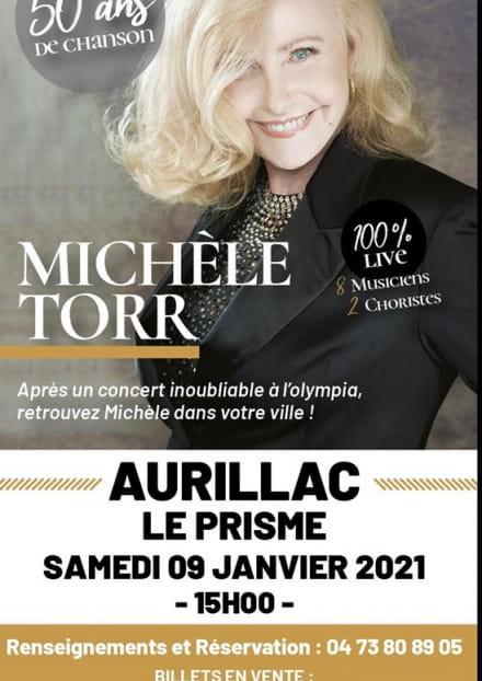 Michèle Torr en concert