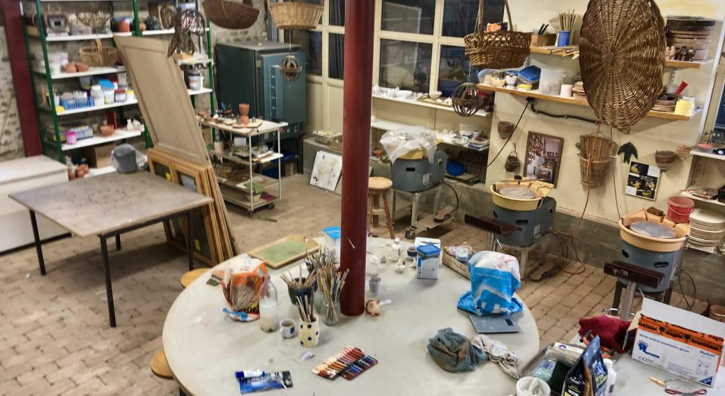 Poterie Le Petit Ours - Ateliers d'initiation, stages