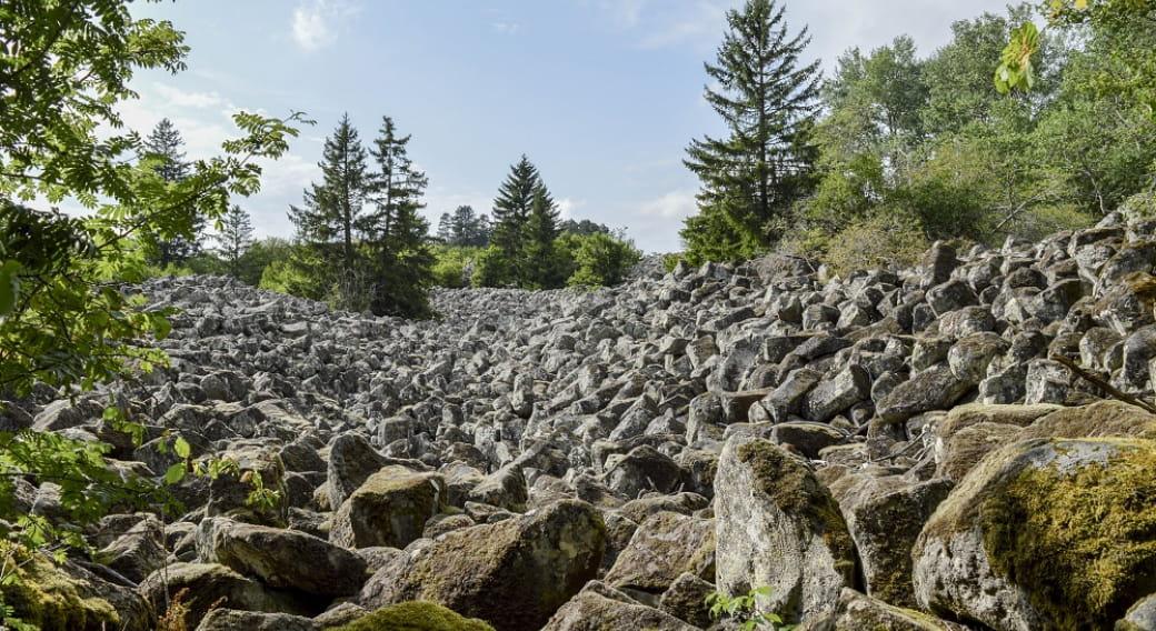 Chaos de Landeyrat Espace Naturel Sensible du Cantal