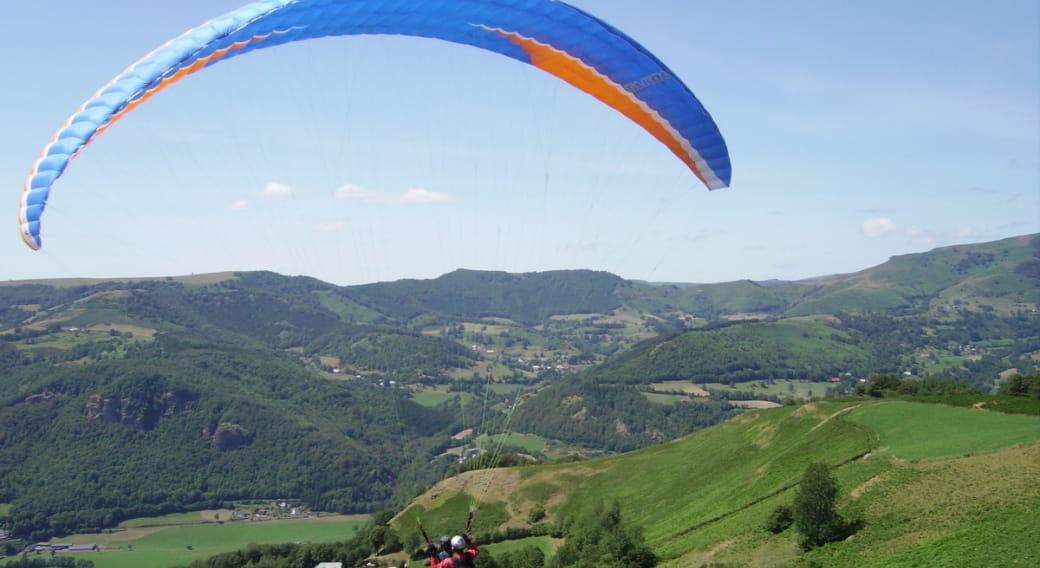 Biplace parapente avec Cantal Air Libre