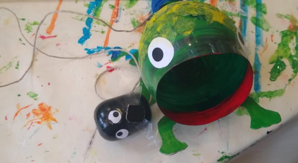 Il était une fois une pt'ite grenouille - ANNULE