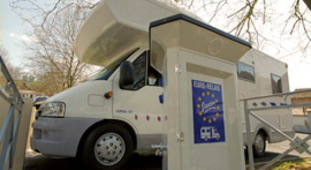 Aire de camping-cars de Naucelles
