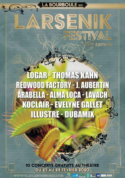 Larsenik Festival : LOGAR - Folk métissée