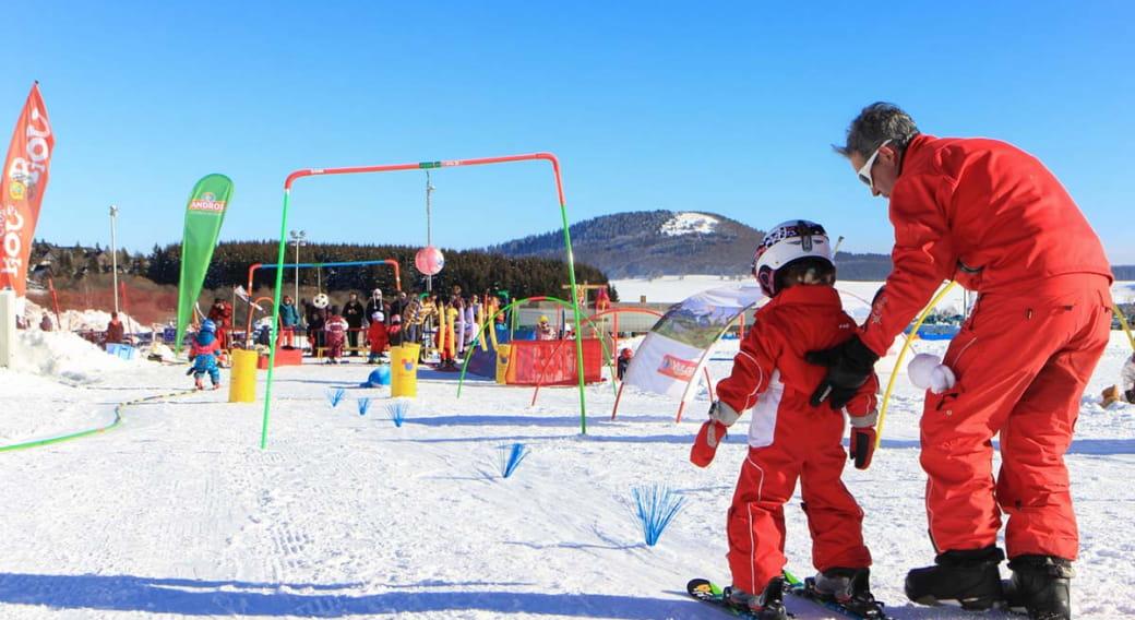 Activités de l'Ecole du Ski Français de Super Besse
