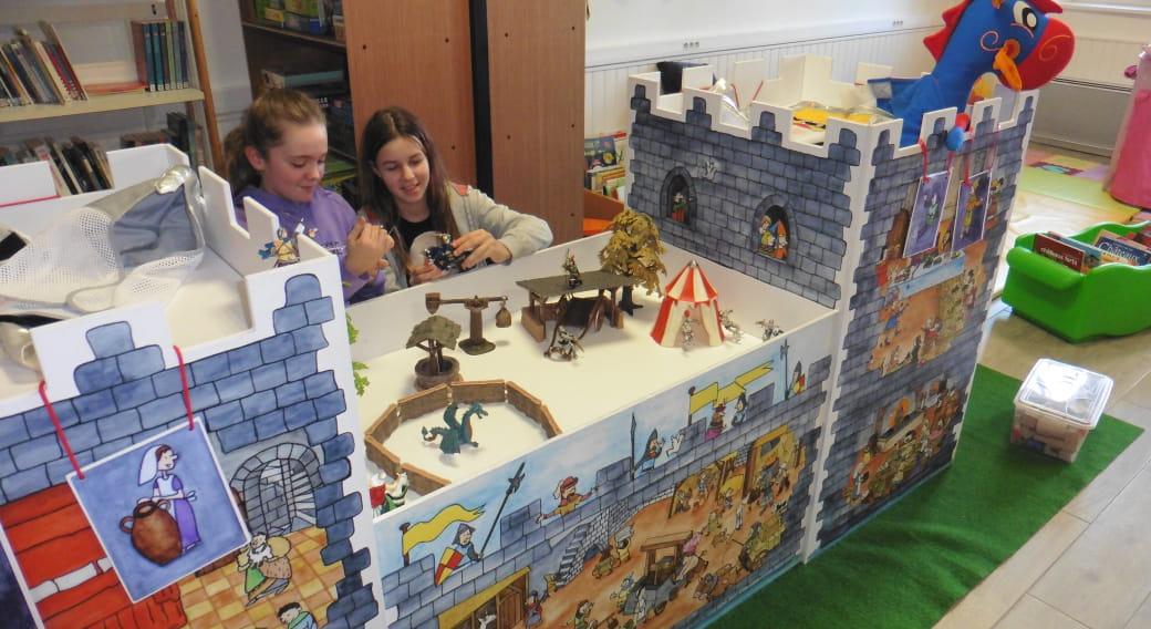 Exposition « le Moyen-âge…comme dans un château »