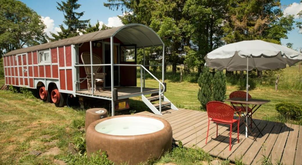 Le Wagon des Estives - Invitation au voyage en Cézallier