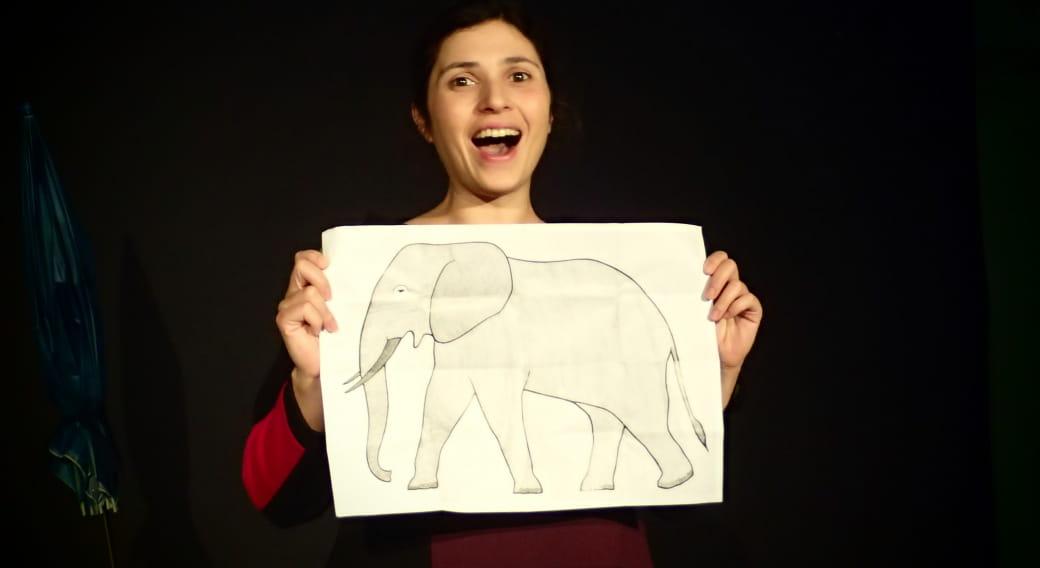 Festival Les Rapatonadas : conte très jeune public 'Moi je ne suis pas un éléphant'