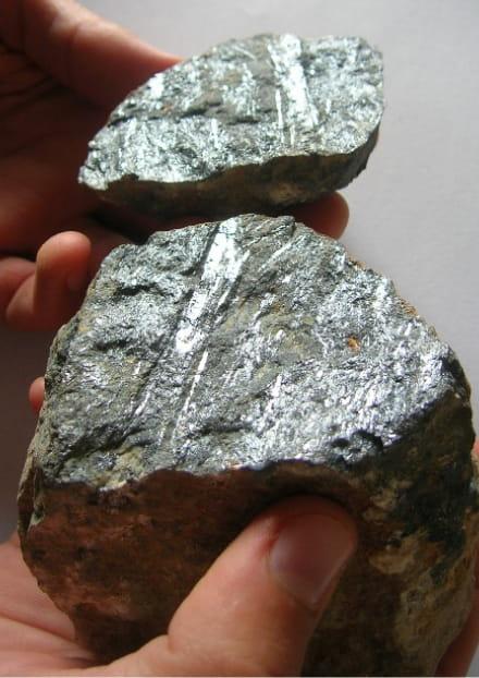 Atelier recherche de minéraux
