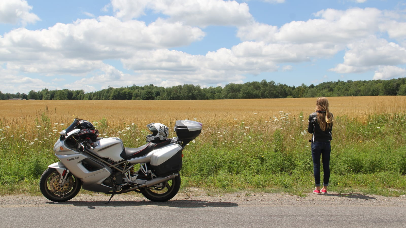 Boucle moto