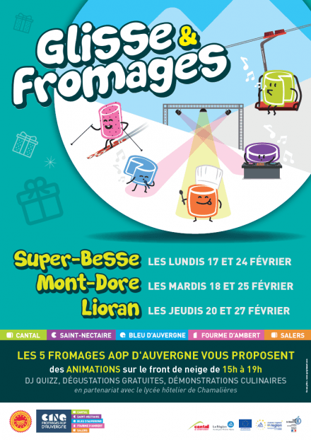 Glisse & Fromages AOP d'Auvergne
