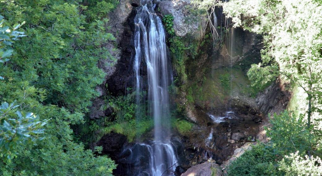 La cascade de la Roucolle