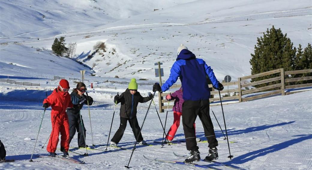 Séance découverte ski de randonnée nordique - Domaine nordique Prat de Bouc Haute-Planèze