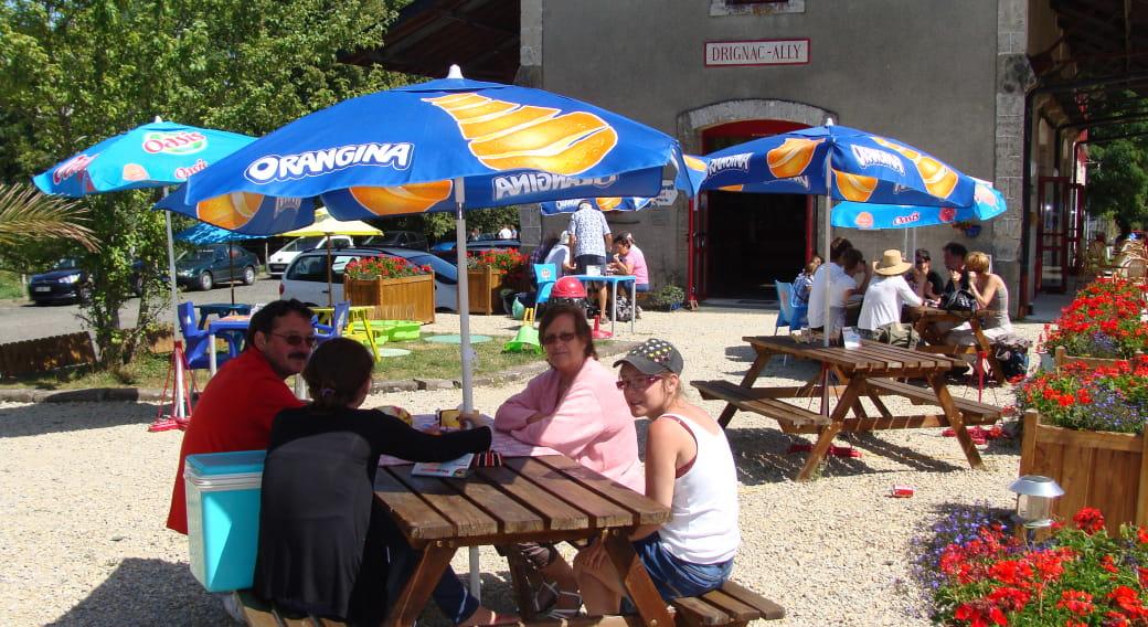 Accueil camping-cars paradis - Aire du Pédalorail