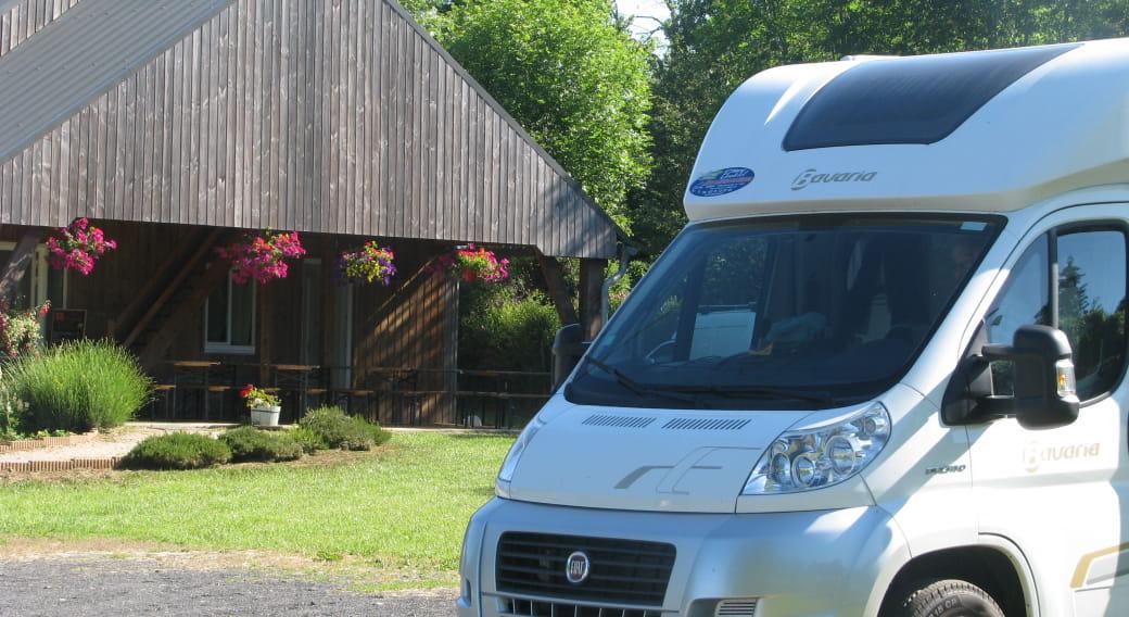 Aire de camping-cars Le jardin aux escargots