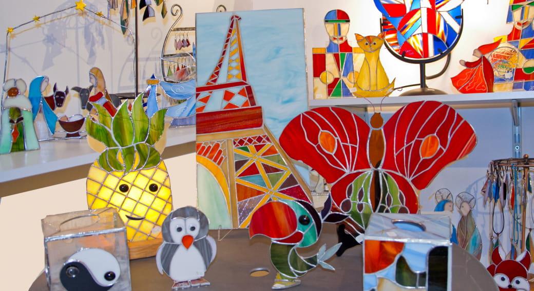 Bons cadeaux : Verre d'Auzelles - Atelier de vitrail