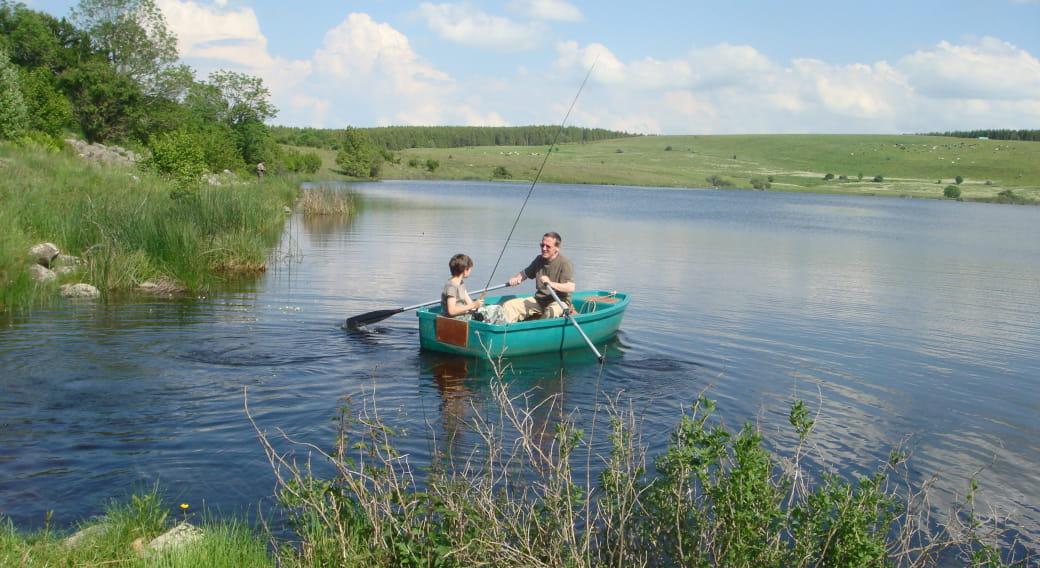 Site de pêche : Le Lac Sauvage