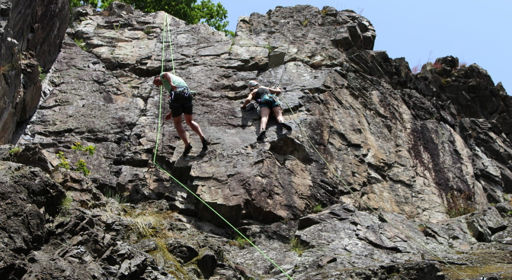Rocher d'escalade - Rocher Charlemagne