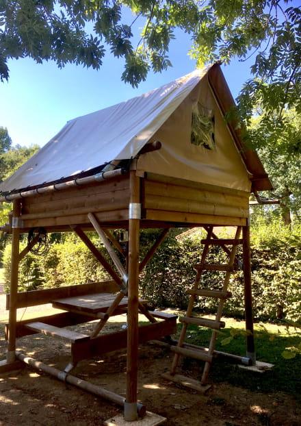 Les Cabanes du Camping des Papillons
