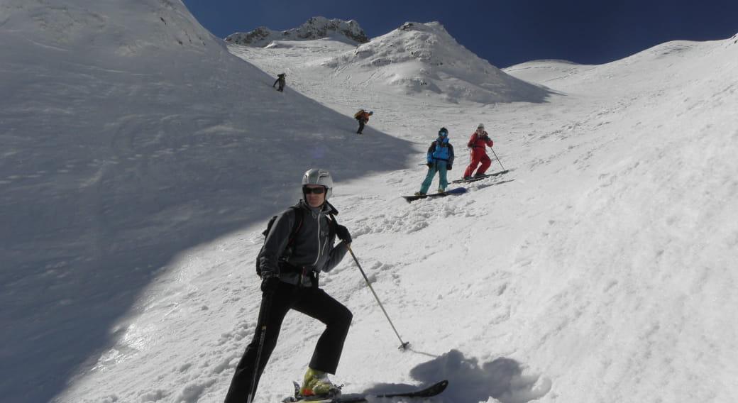 Bureau des guides d'Auvergne - Ski de randonnée