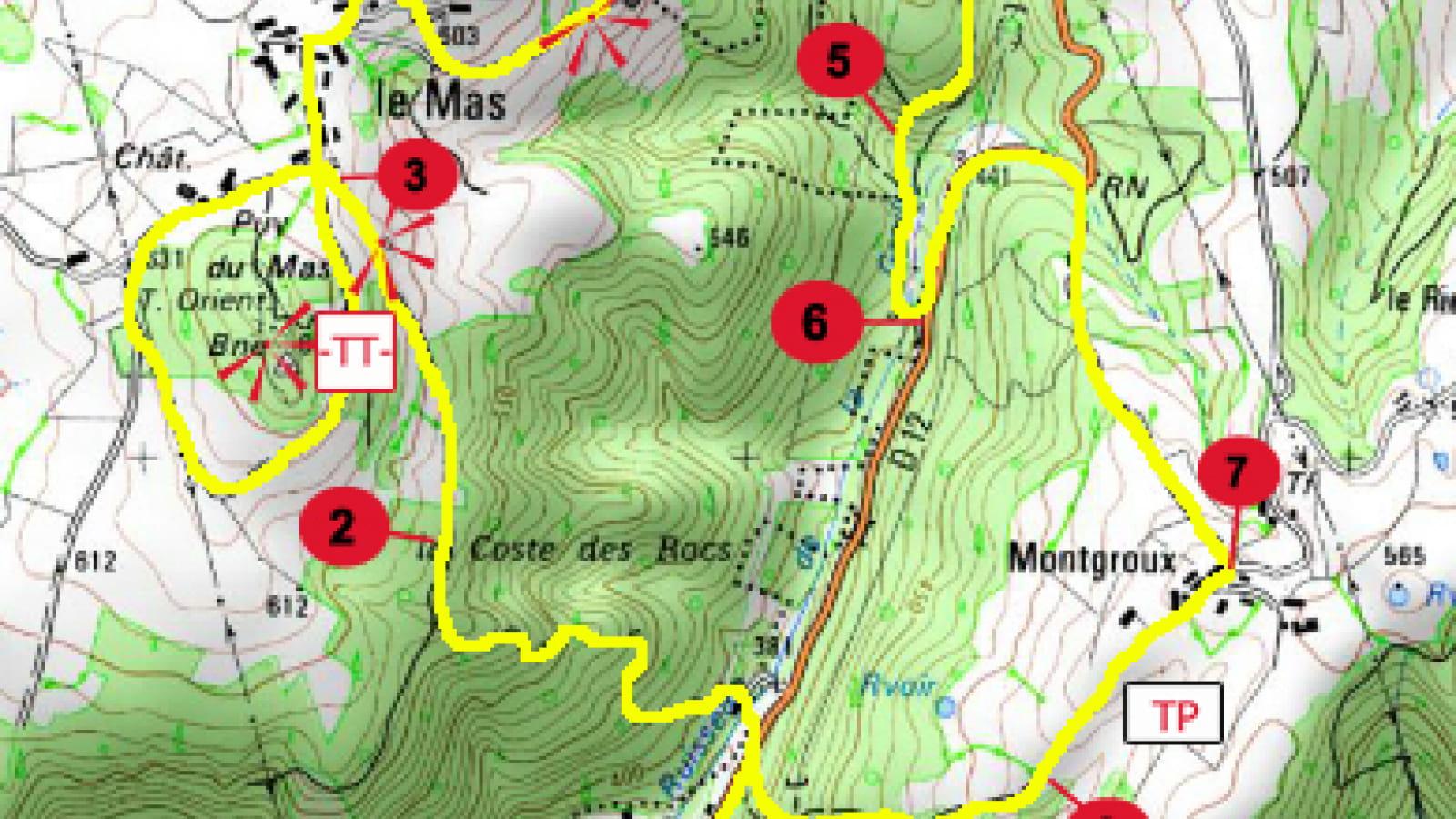 PR 23 - Le Puy du Mas