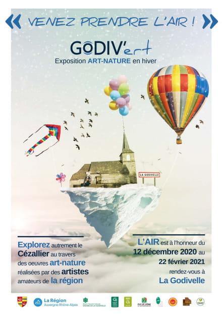 Festival de land-art : Godiv'art devient Godiv'ert (dates modifiées)
