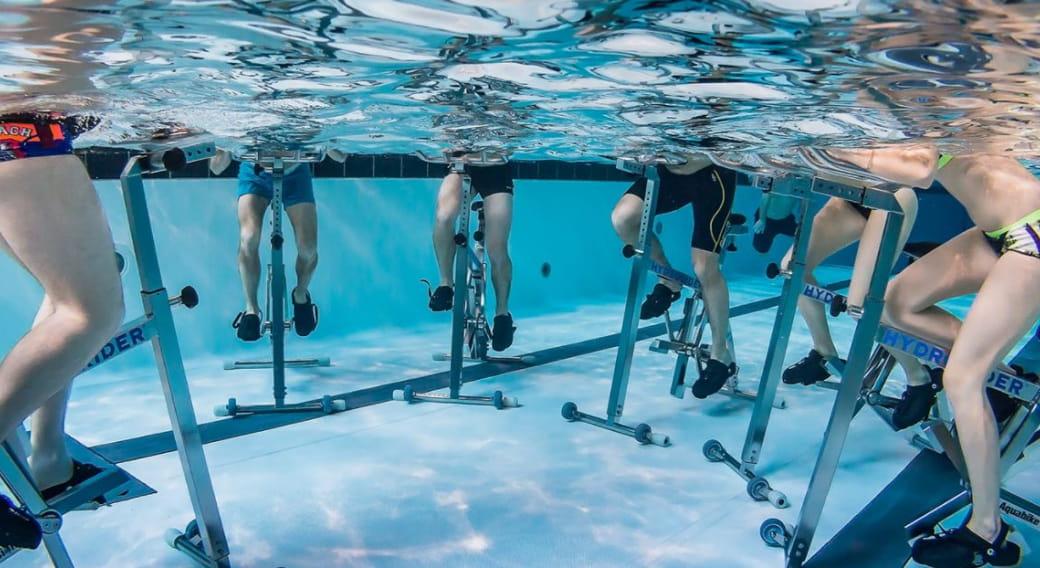Aquabike aux Bains du Rouget