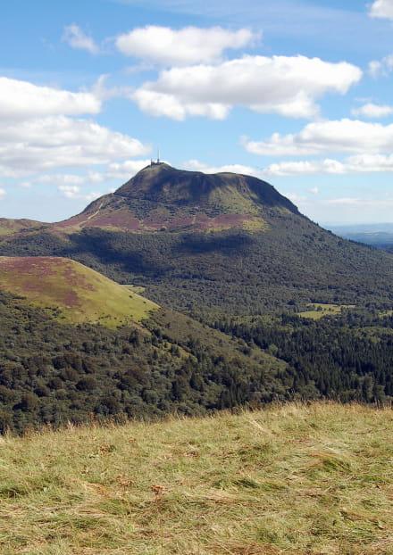 Balade géologique : le puy de Dôme depuis Laschamps