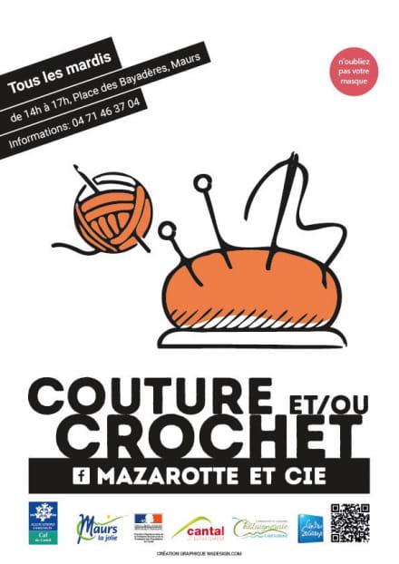 Ateliers Couture et / ou Crochet à Maurs