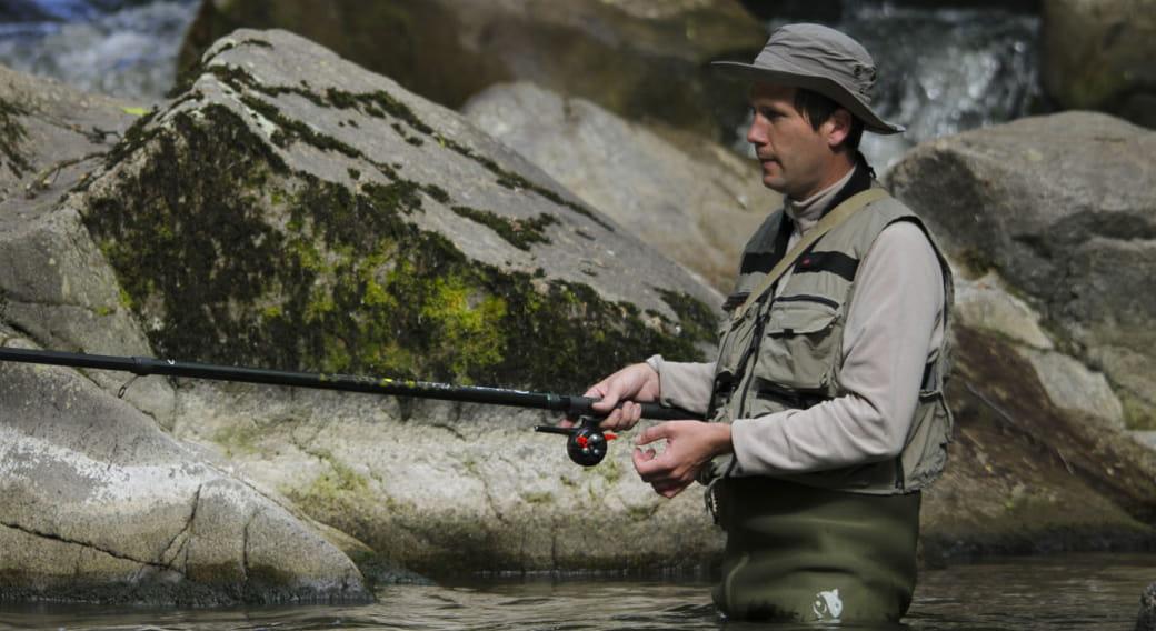 Site de pêche de la Dordogne au Mont-Dore