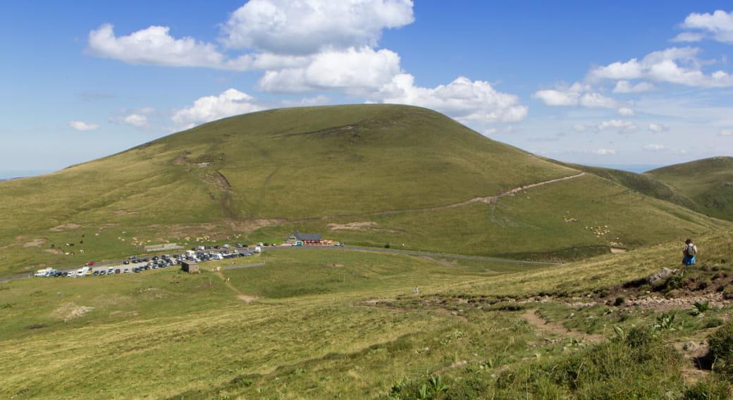 Cyclotourisme : montée du Col de la Croix Morand