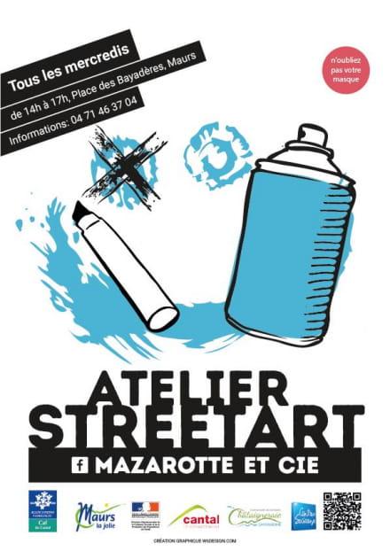 Atelier Street Art à Maurs