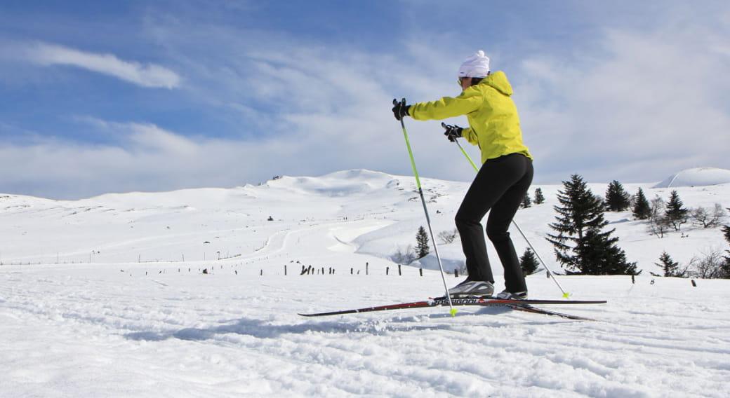 Ski de Fond - Secteur Le Mont-Dore - Le Capucin