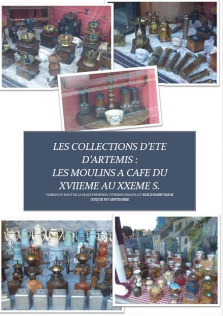 Exposition 'Les Moulins à café XVIIème et XXème s. '
