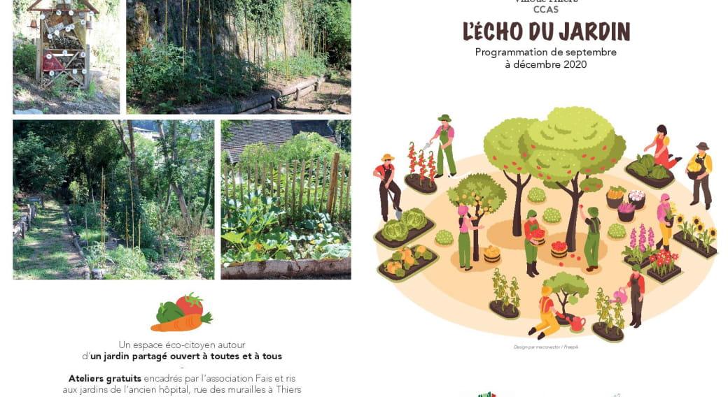L'écho du jardin - Disco soupe & patate braisée