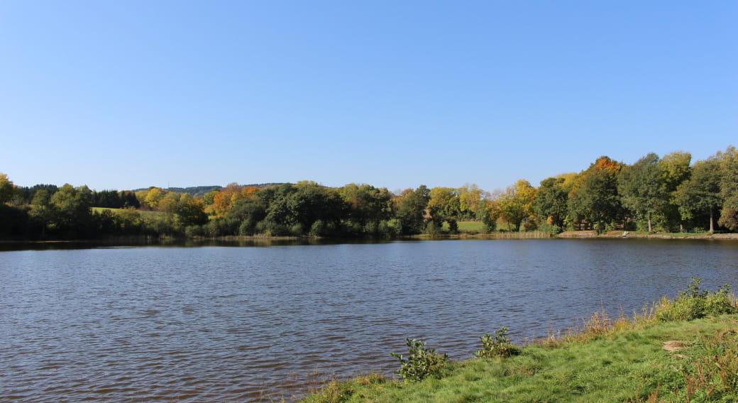 Site de pêche - Étang de Laschamp