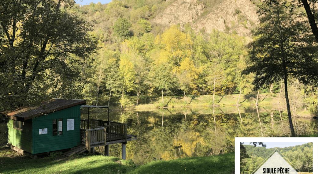 Site de pêche - Étang ''SPH'' Sioule Pêche Hébergement