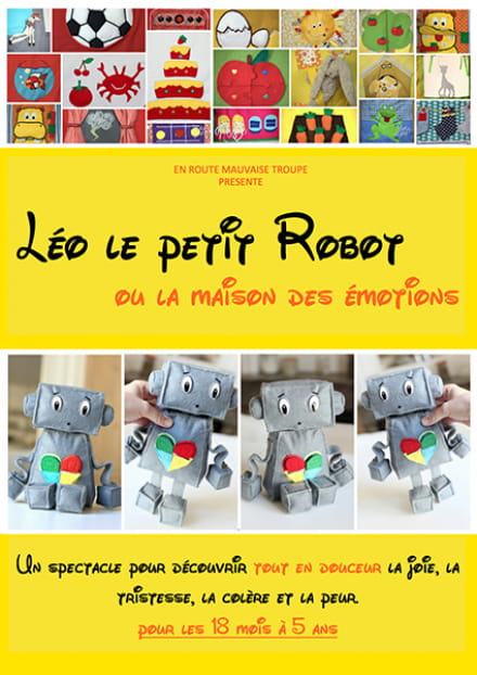 Défonce de rire : Léo le petit robot