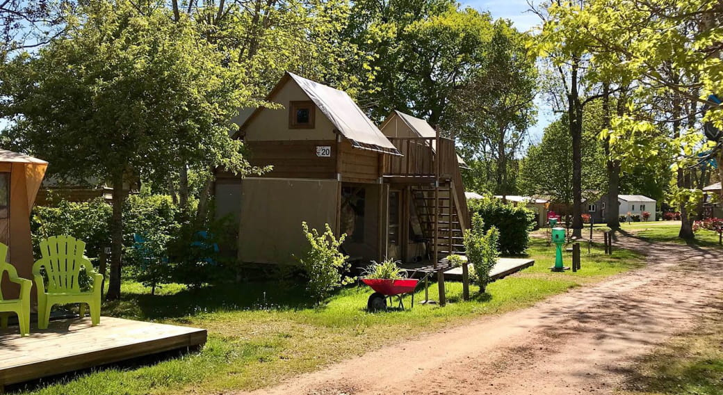 Camping des Papillons Lalizolle