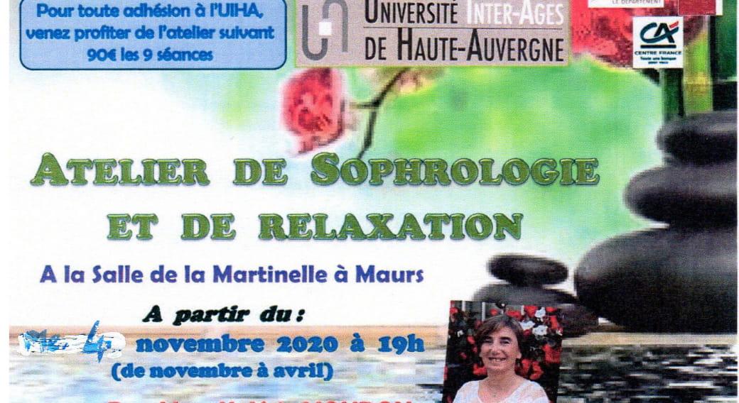 Atelier de sophrologie à Maurs