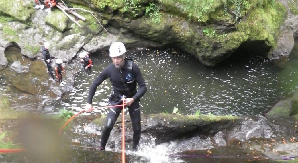 Randonnée aquatique avec Escale Verticale