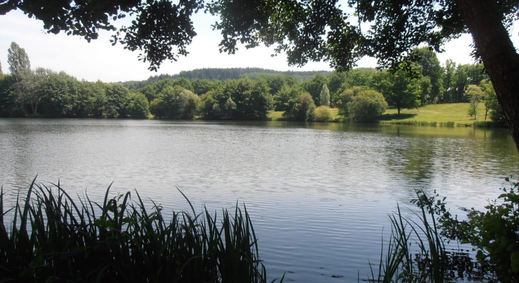 Site de pêche - Plans d'Eau de Saint-Eloy-Les-Mines et étangs aux alentours