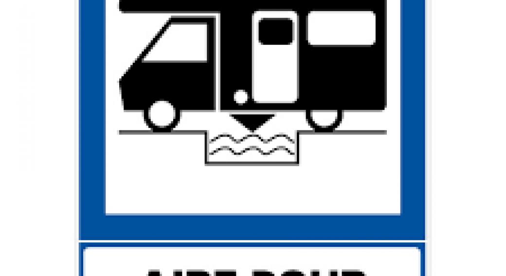 Aire de services sur camping