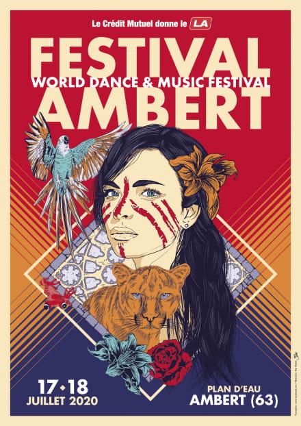 Affiche Festival Ambert 2020