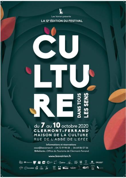 Festival : Culture dans tous les Sens 2020